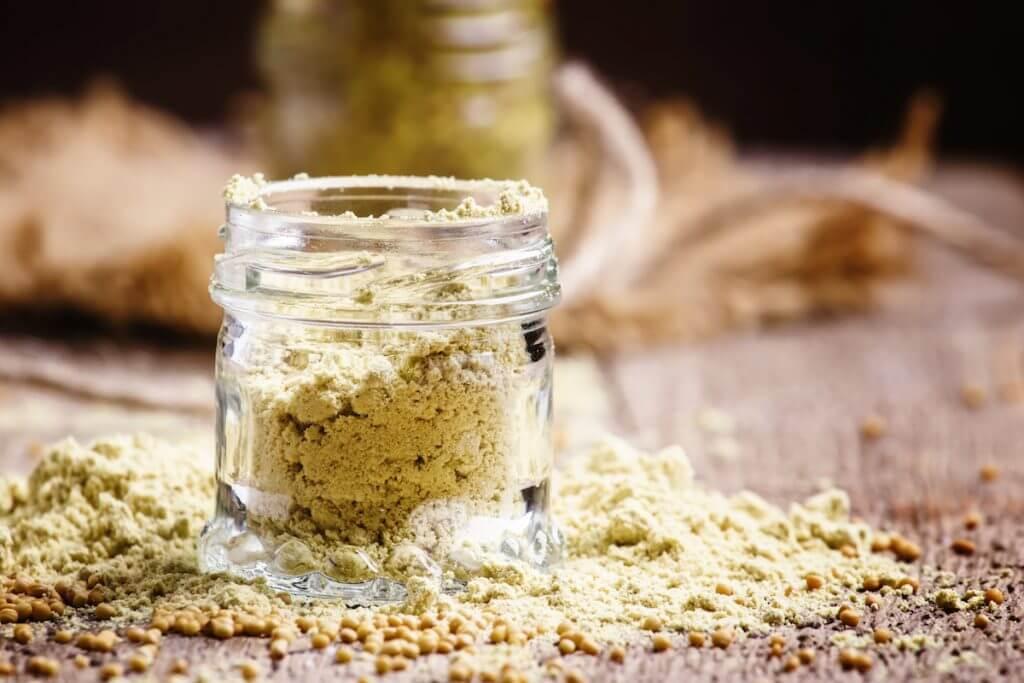 Mustard powder substitute
