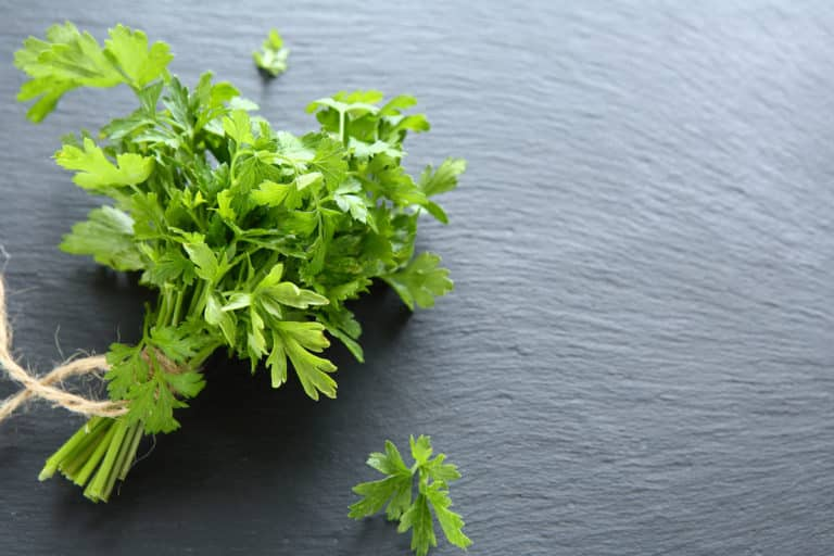 too much parsley