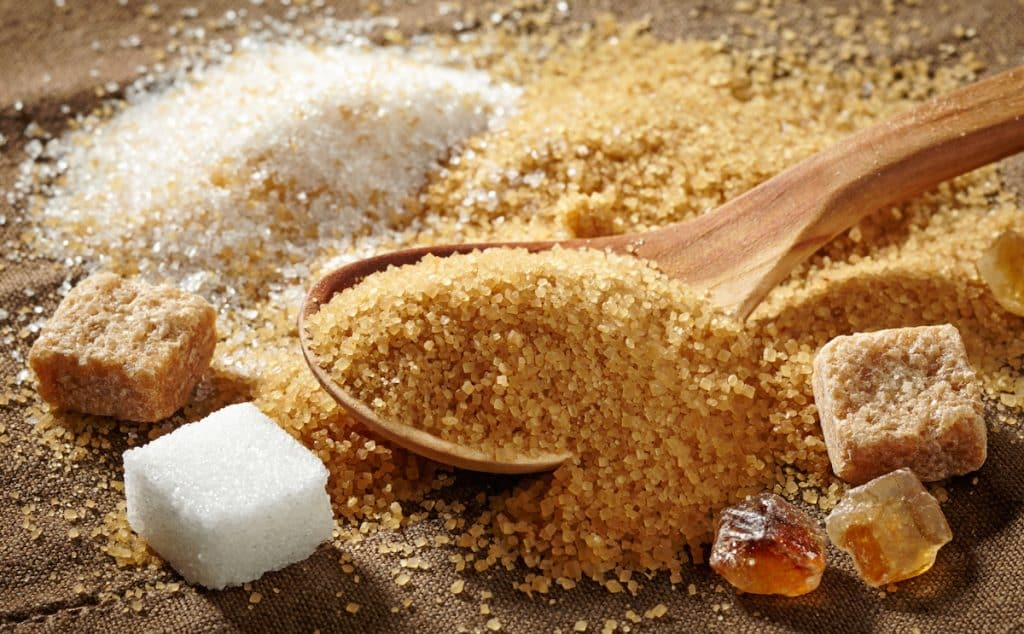 brown sugar vs cane sugar