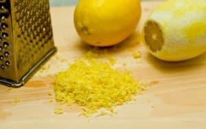 Lemon Zest:  The True Flavor Of Lemon