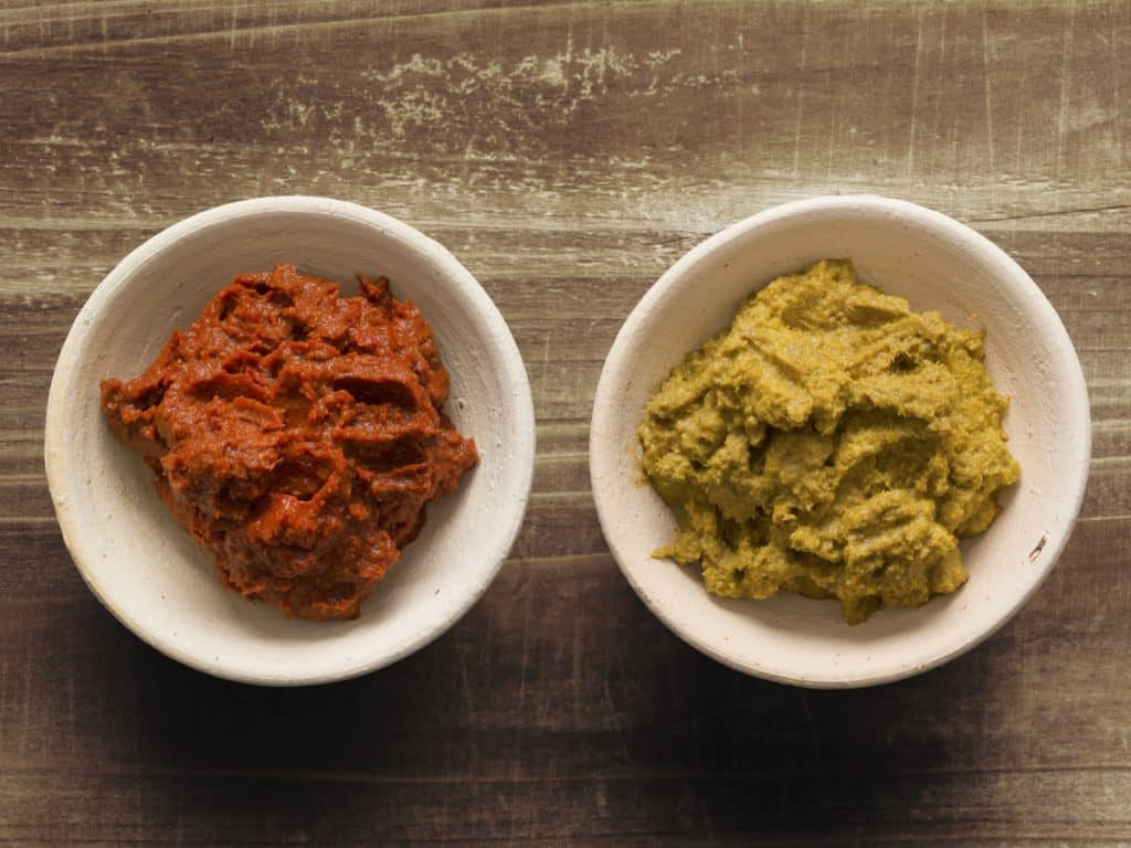 curry paste vs curry powder