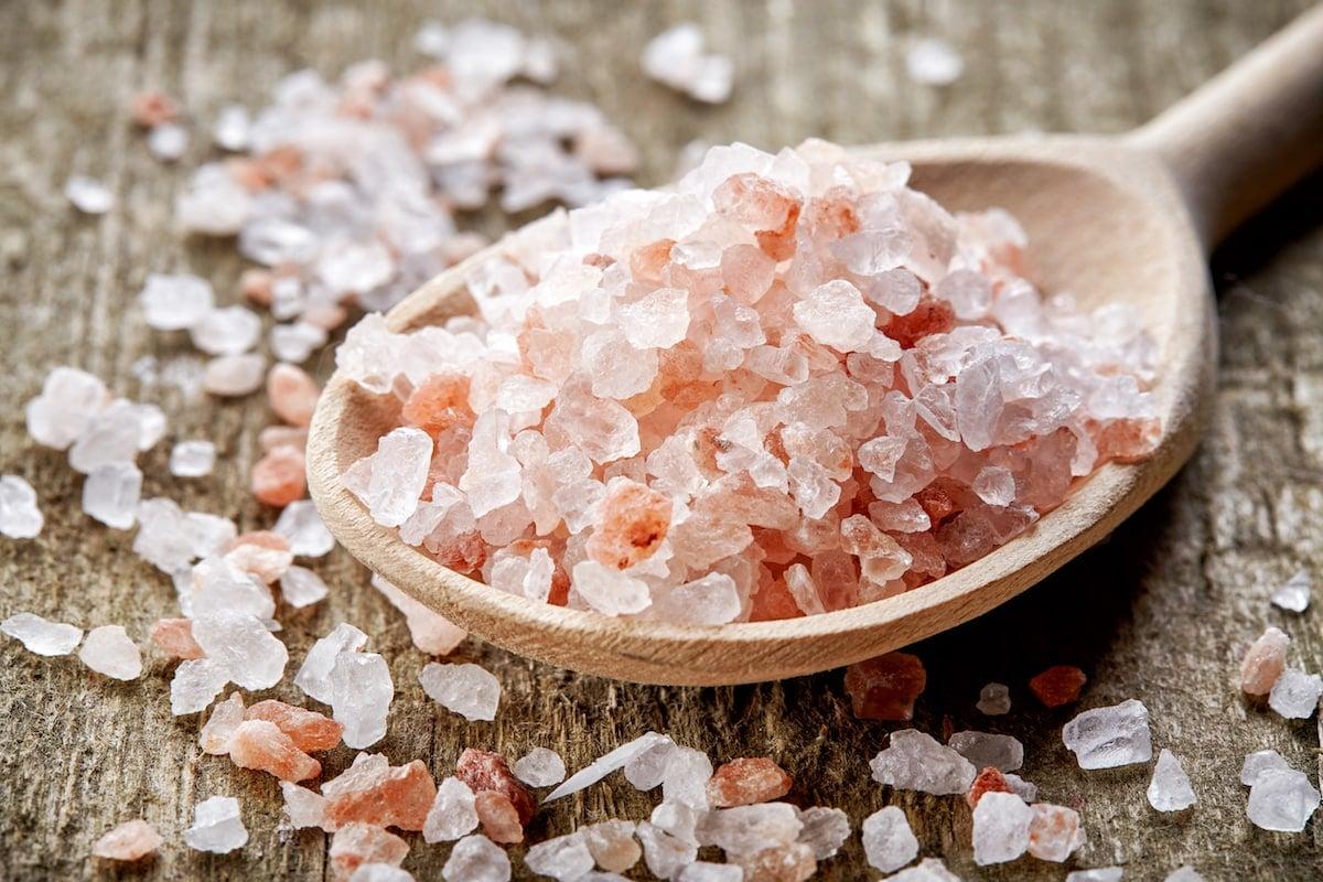 Himalayan salt vs table salt