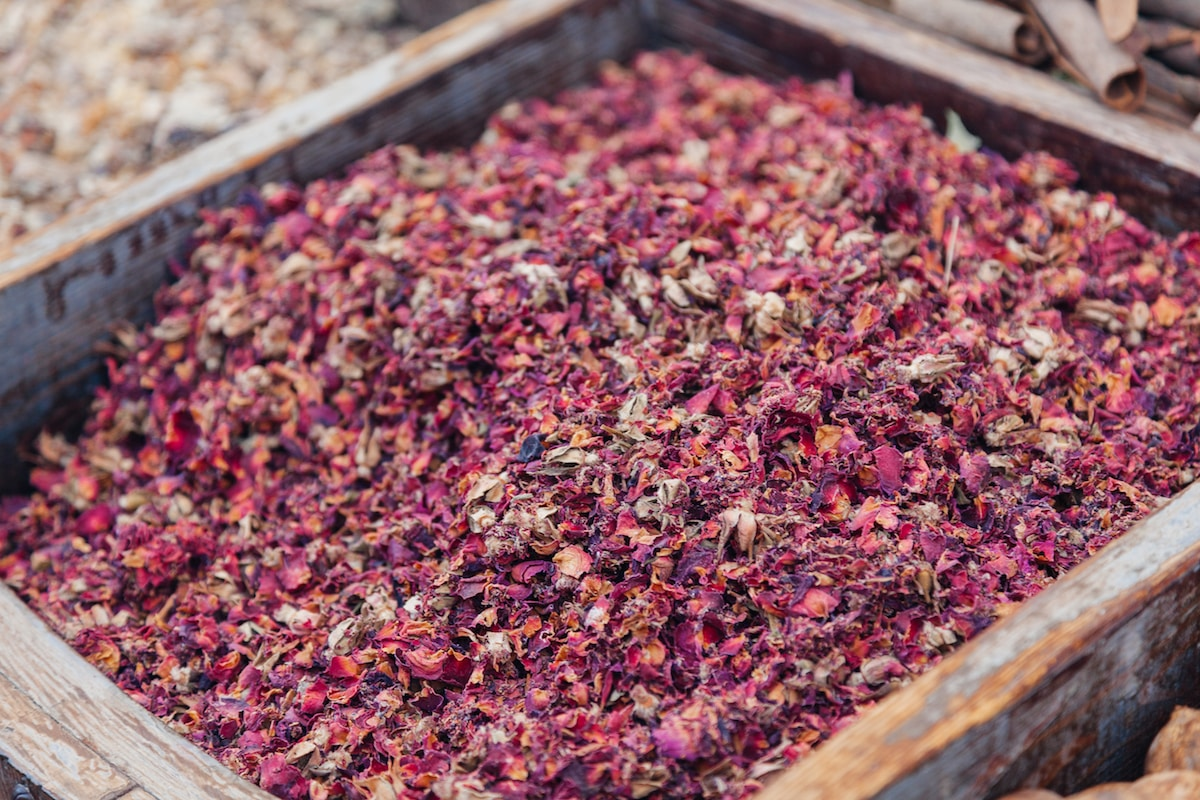 Rose Petals: A Persian Spice