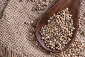 White Peppercorns: A Milder Version Of Pepper