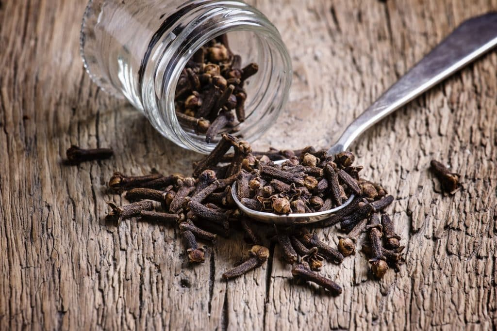 cooking with cloves