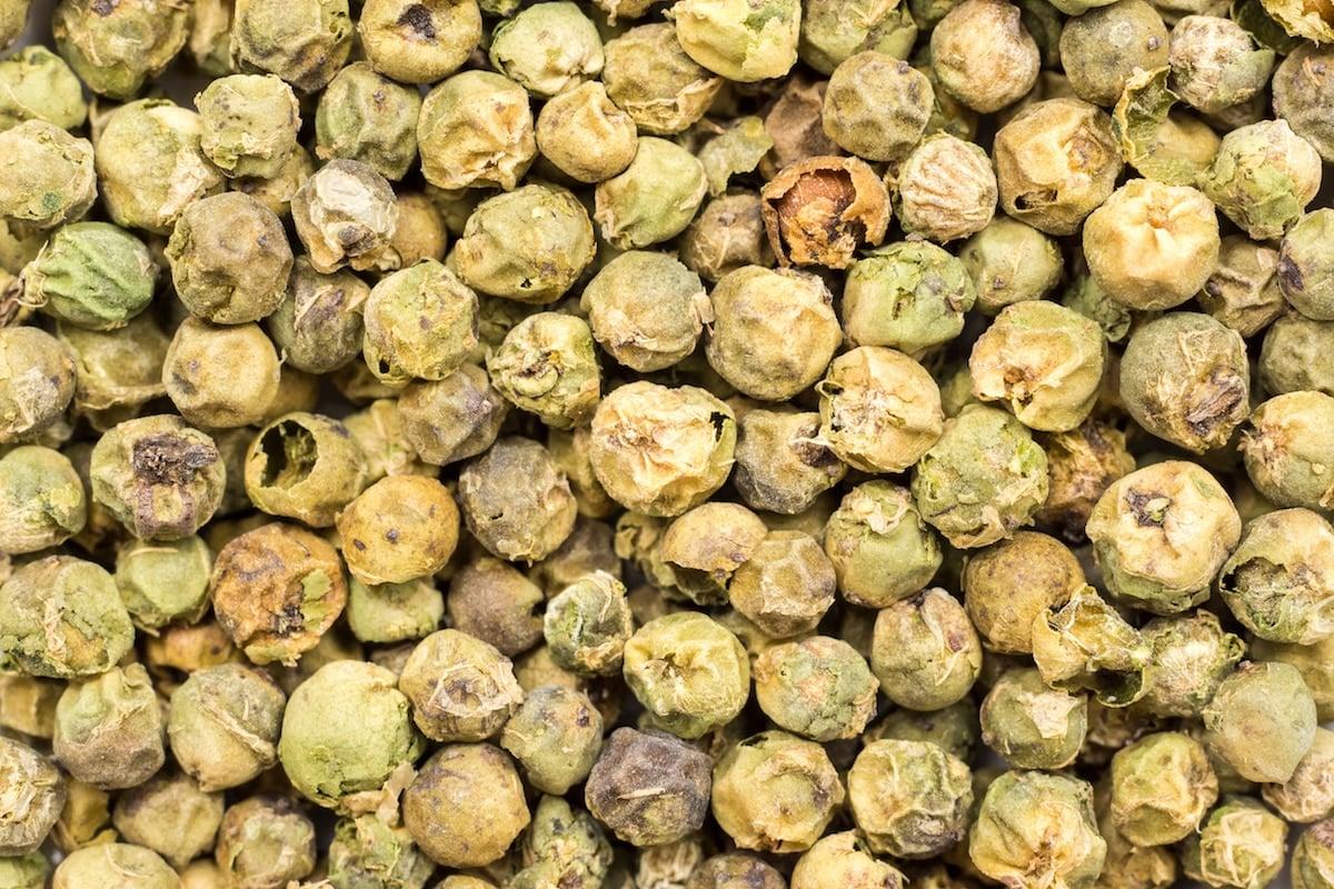 green peppercorns vs capers