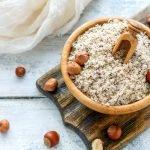Hazelnut flour substitute