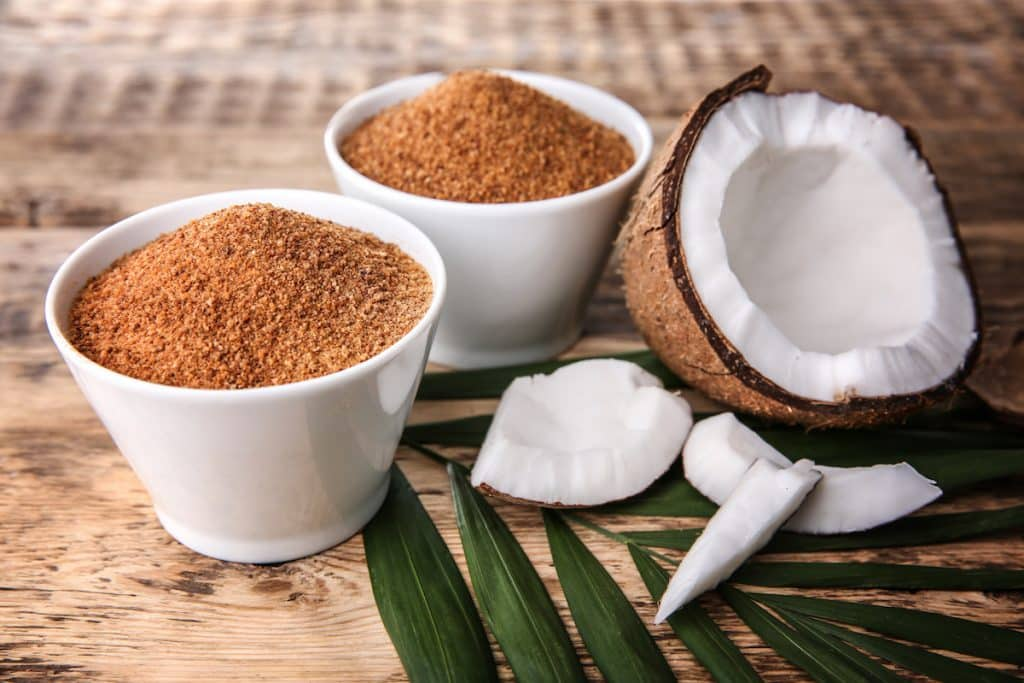 Cooking with coconut sugar