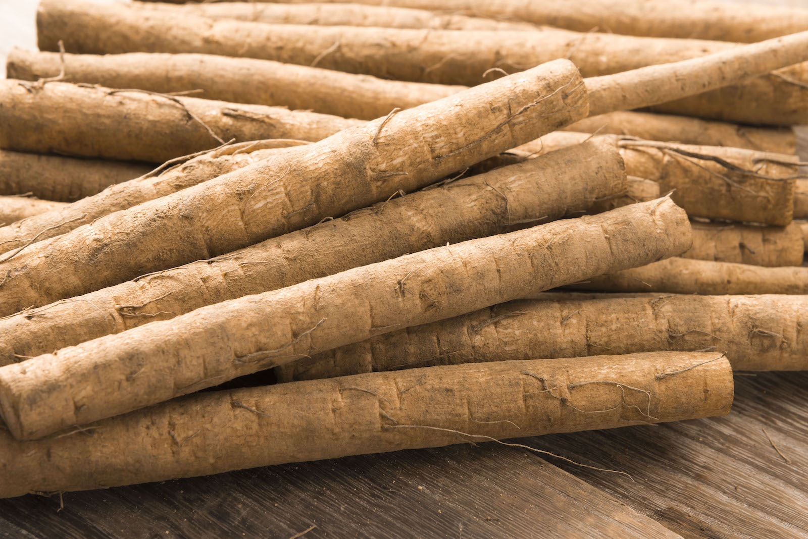 Burdock root substitute