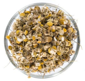 Cooking with chamomile