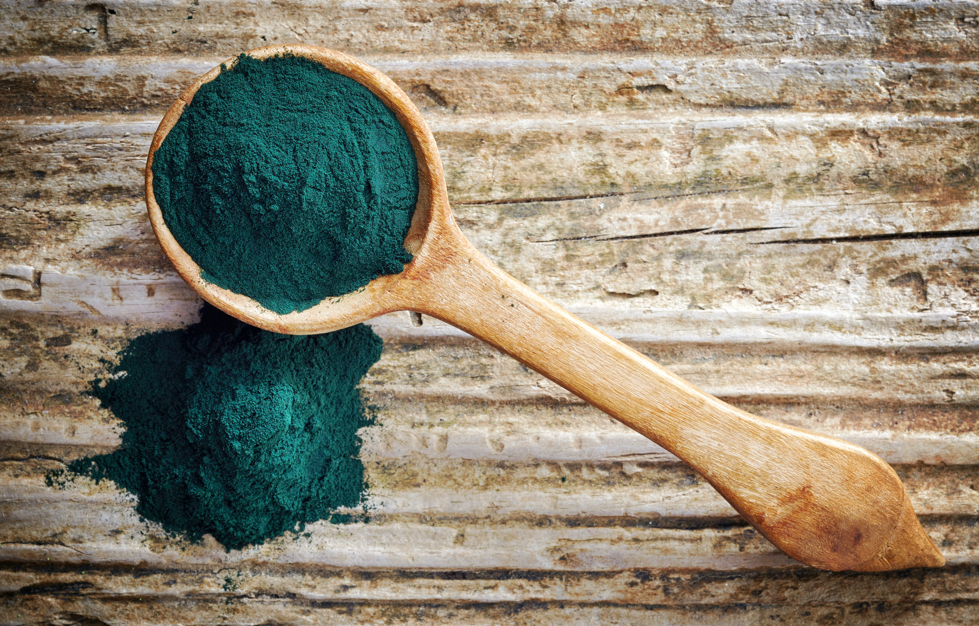 Cooking with spirulina