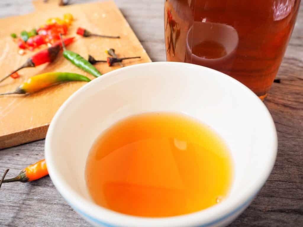 Fish sauce vs soy sauce
