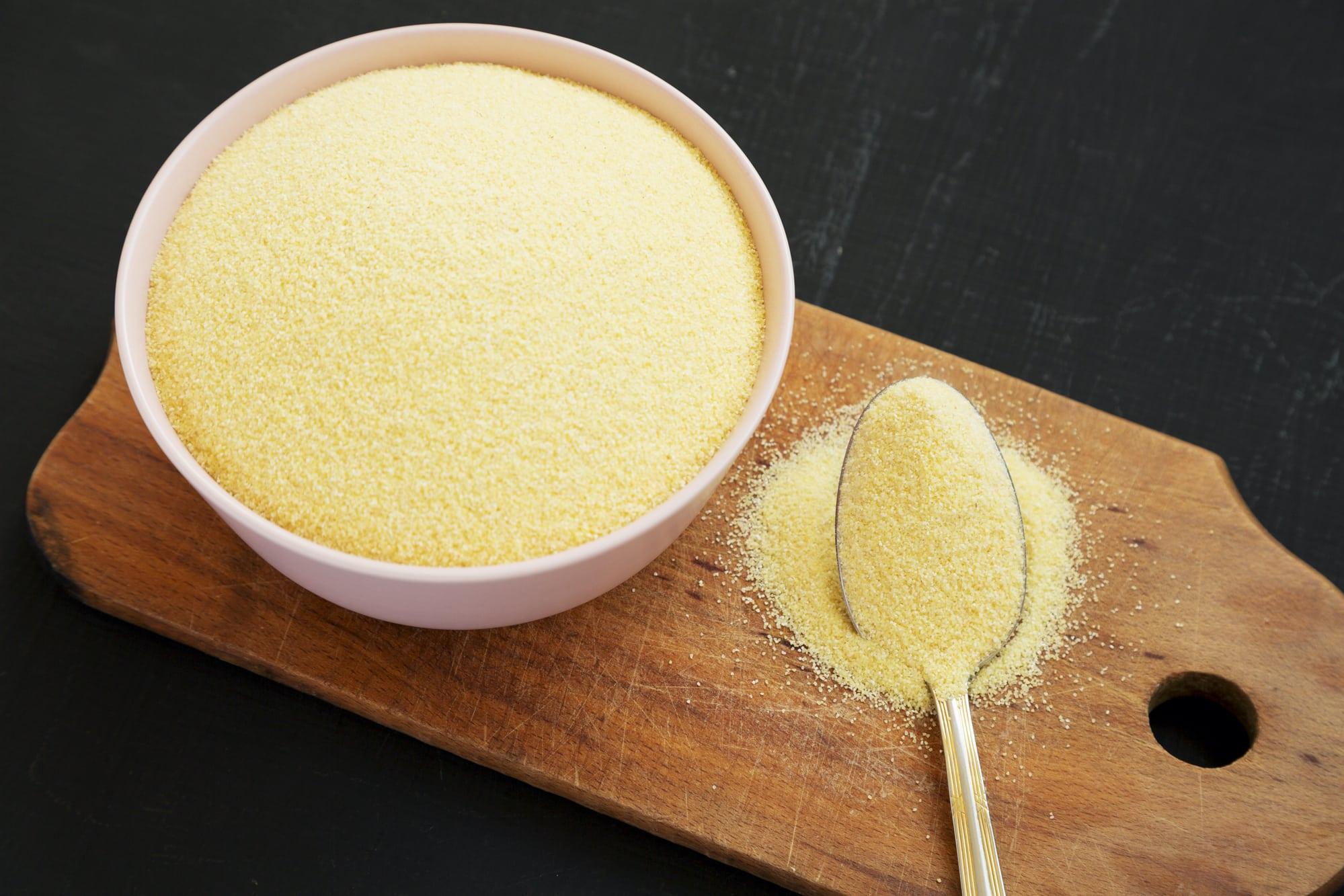 Semolina flour substitute
