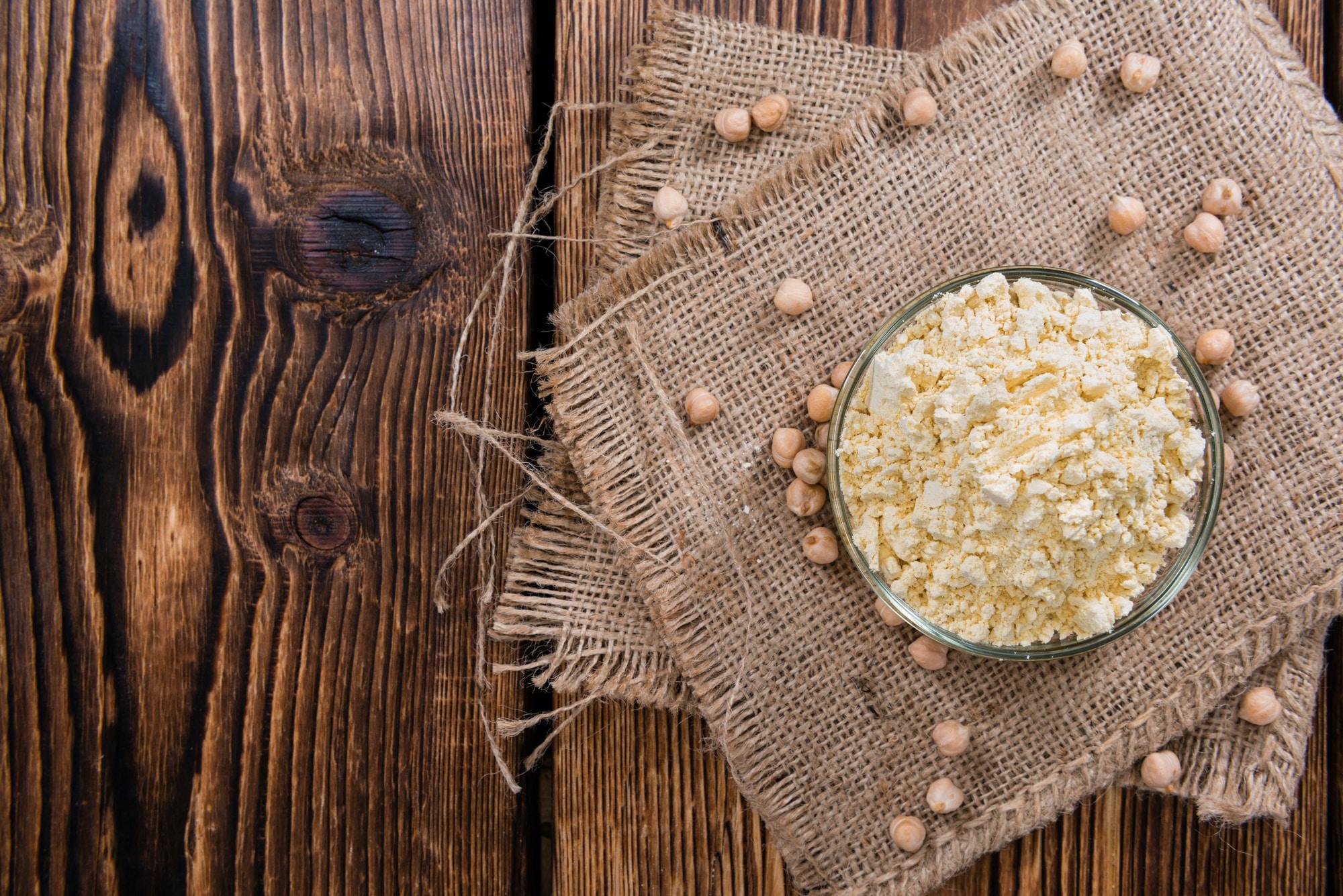 Chickpea Flour vs. White Flour