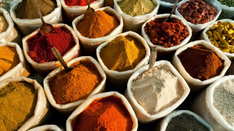 Popular Indian spices