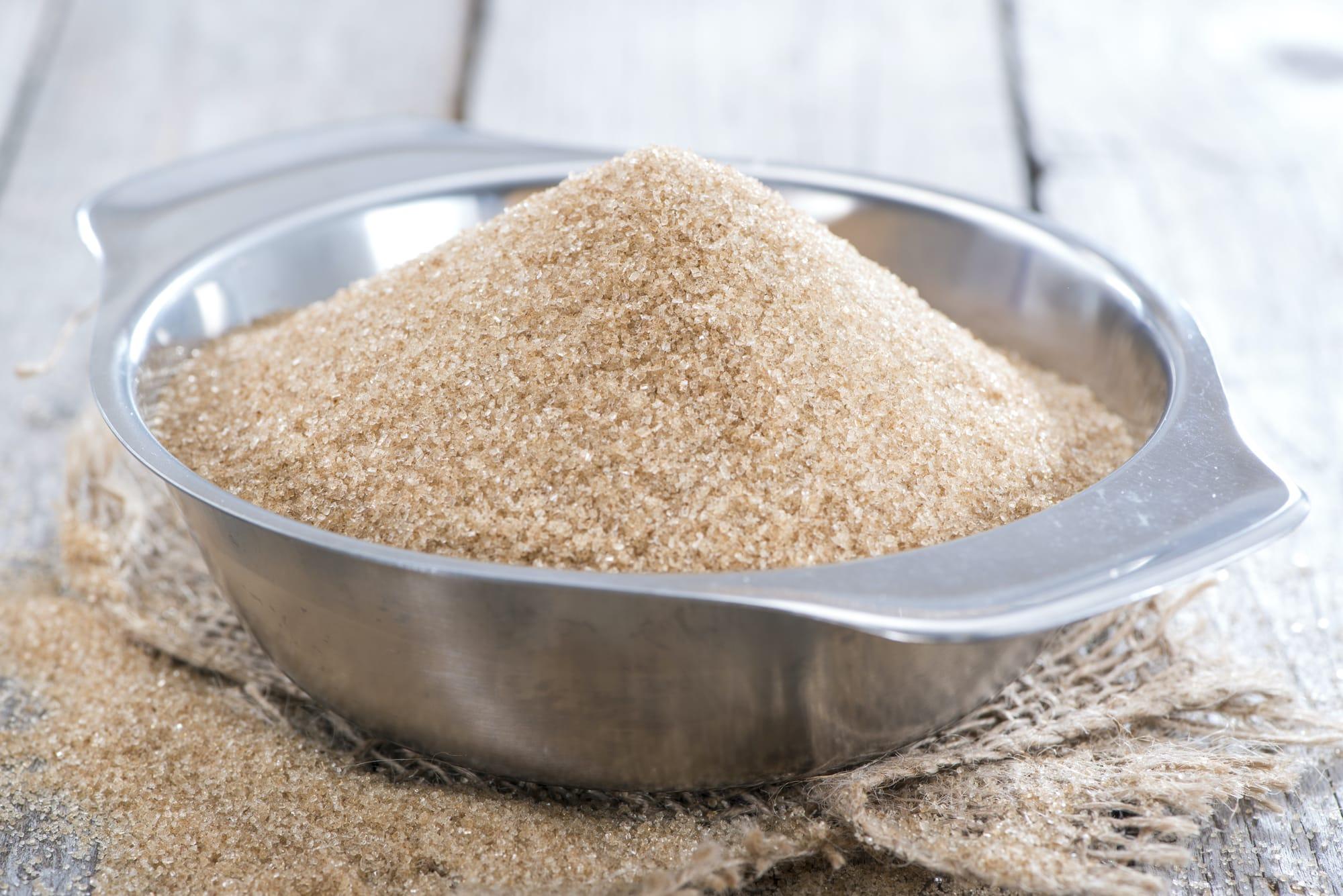 Brownulated sugar