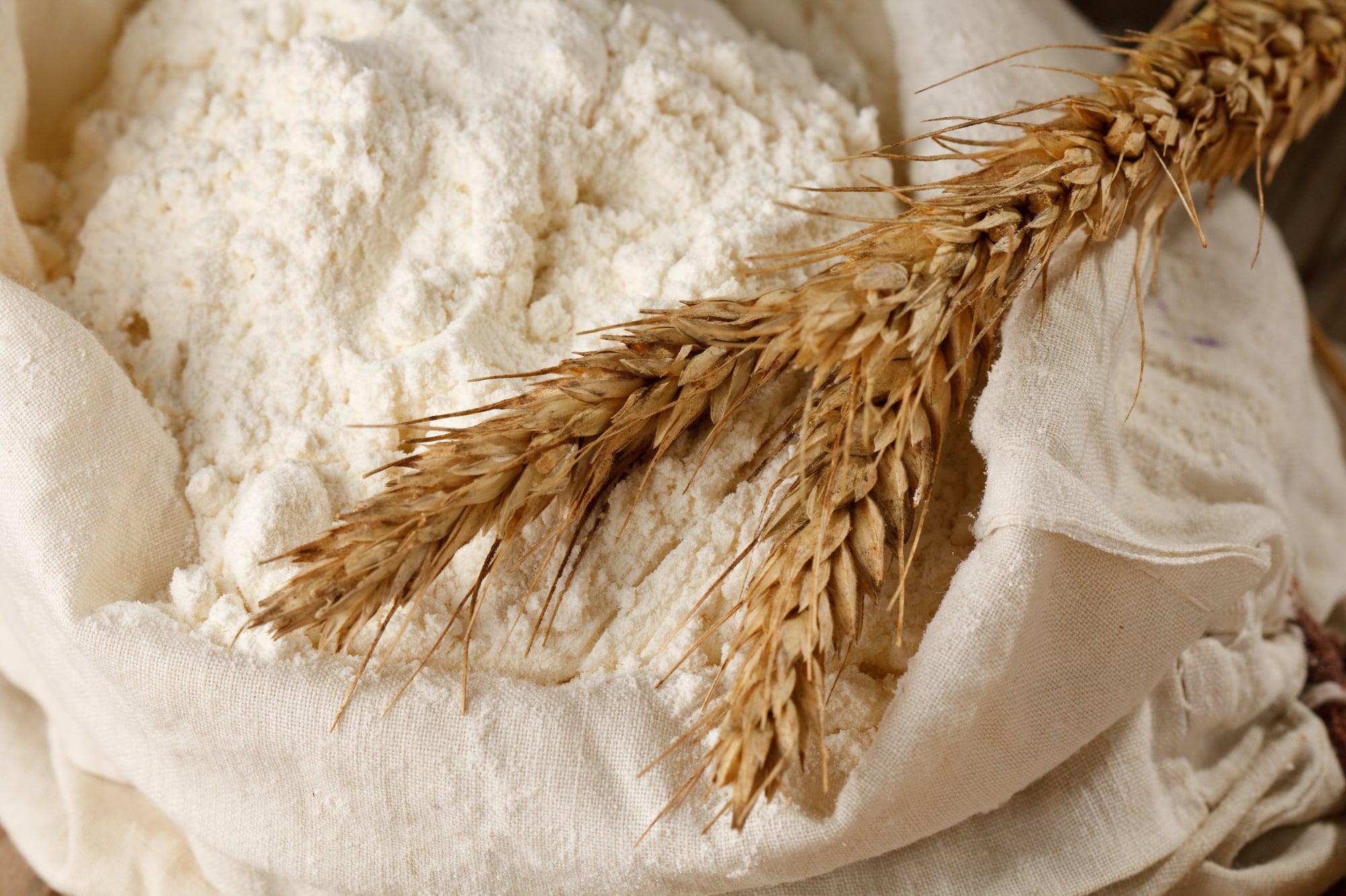Rye flour vs wheat flour
