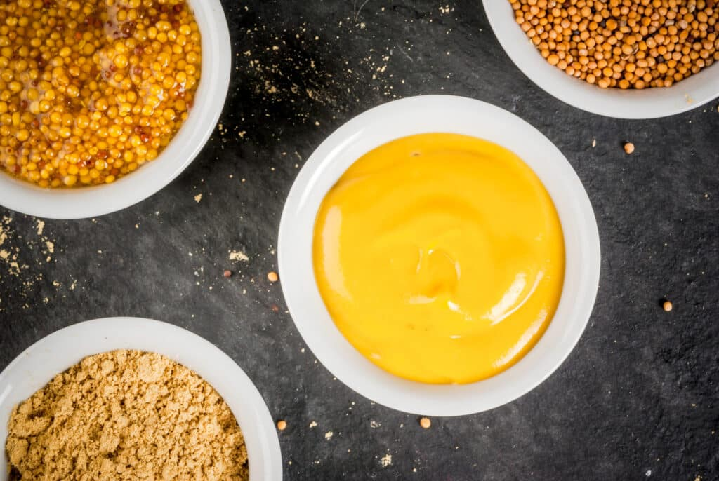 Dijon vs Yellow Mustard