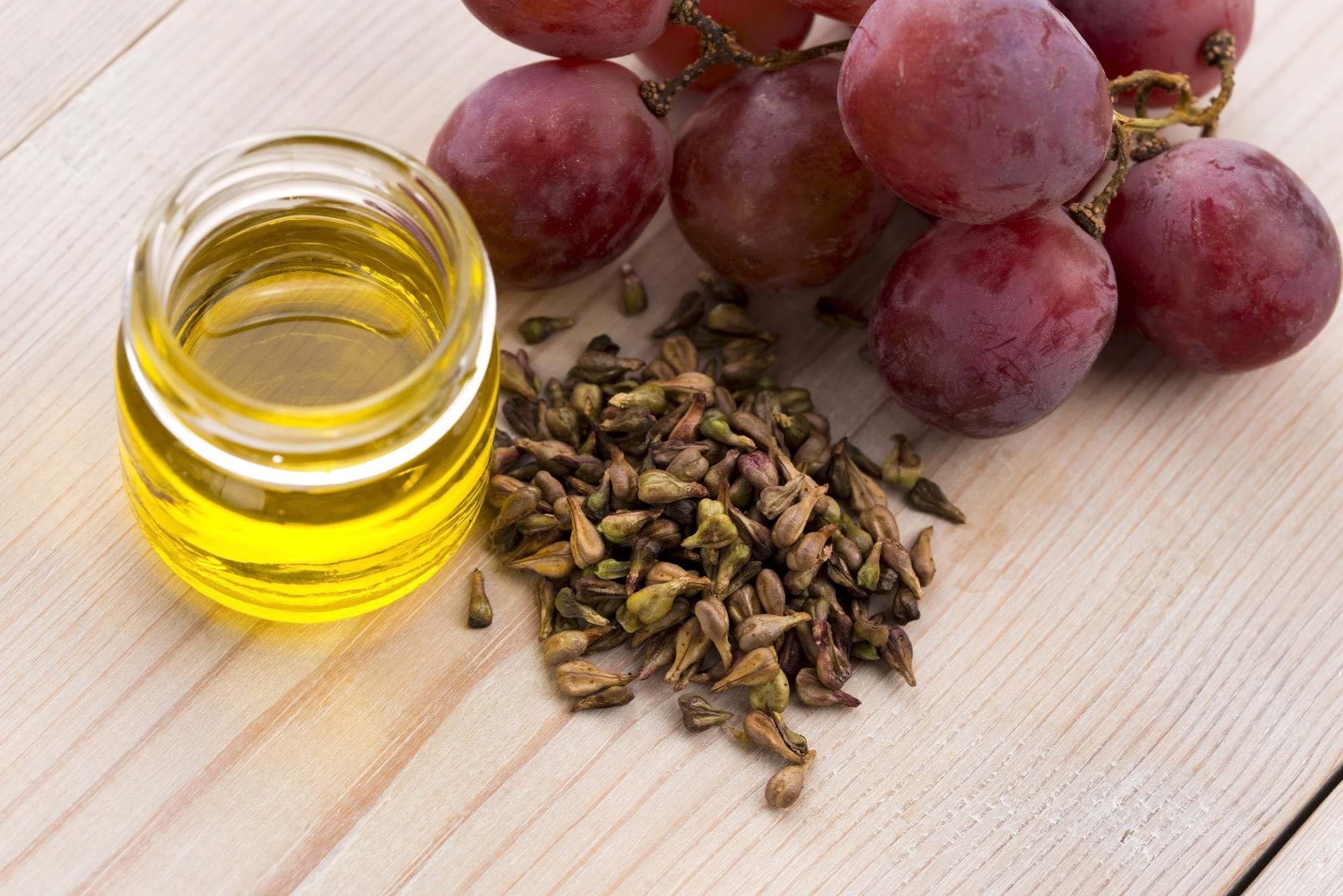 Cooking with grapeseed oil