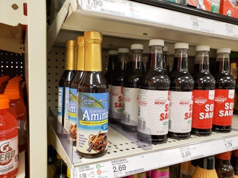 Coconut aminos vs. soy sauce