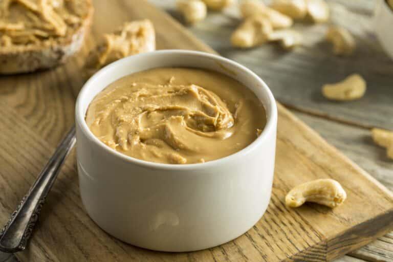 Cashew butter vs. almond butter
