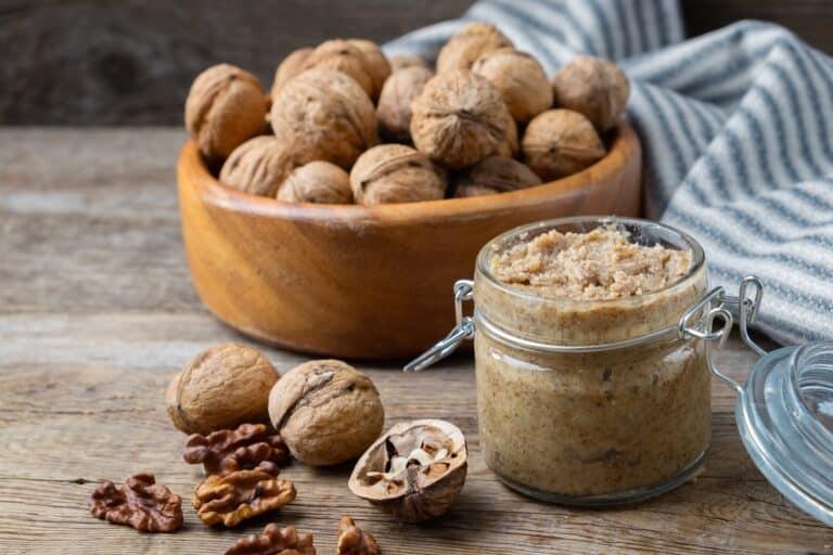 Walnut butter vs. almond butter